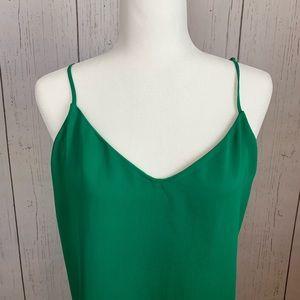 J. Crew Tops - J Crew Shamrock Green Camisole Women's Size 10